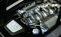 BENTLEY MULSANNE TURBO engine
