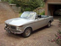 BMW 1600 CABRIOLET red