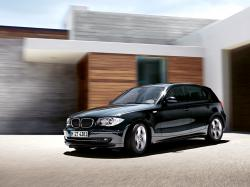 BMW 1 black