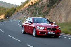 BMW 1 red
