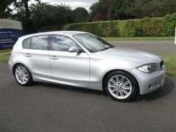 BMW 1 silver