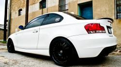 BMW 1 white