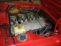 BMW 2800 interior