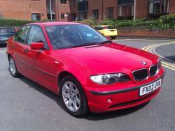 BMW 3 316I red