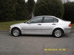 BMW 3 316I silver