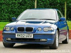 BMW 3 COMPACT blue