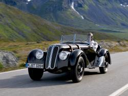 BMW 328 ROADSTER blue