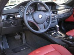BMW 335 CABRIO red