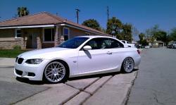 BMW 335 CABRIO white
