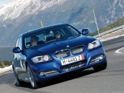 BMW 335 blue