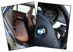 BMW 335 brown