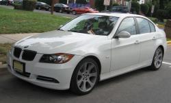 BMW 335 white