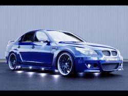 BMW 5 M5 blue