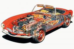 BMW 507 engine