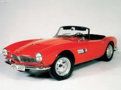 BMW 507 red