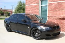 BMW 5 black