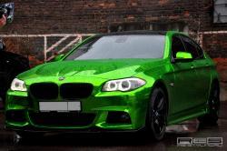 BMW 5 green