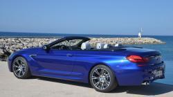 BMW 6 CABRIOLET blue