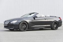 BMW 6 CABRIOLET silver