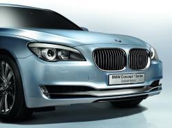 BMW 7 HYBRID blue