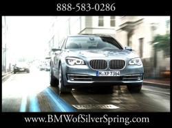 BMW 7 HYBRID silver