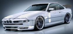 BMW 8 SERIES white