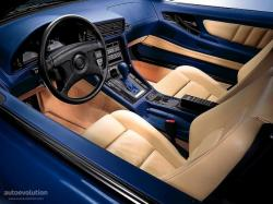 BMW 8 interior