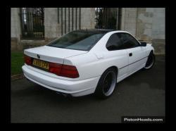 BMW 8 white