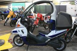 BMW C1 blue