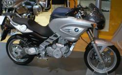 BMW F 650 CS silver