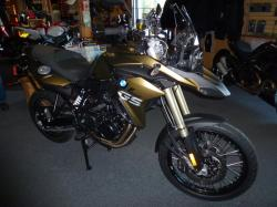 BMW F 800 GS green