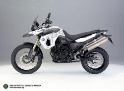 BMW F 800 GS white