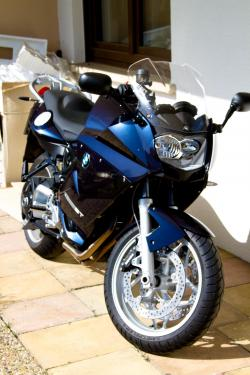 BMW F 800 ST blue
