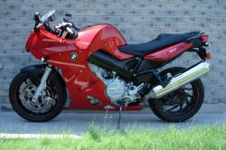 BMW F800S red