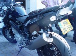 BMW F800ST black
