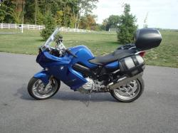 BMW F800ST blue