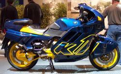 BMW K 100 blue