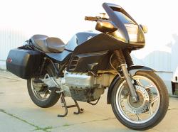 BMW K 100 brown