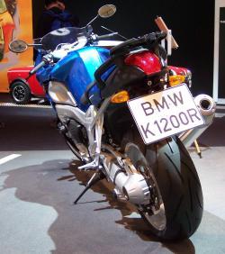 BMW K 1200 blue