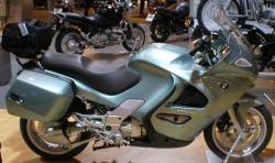 BMW K 1200 green