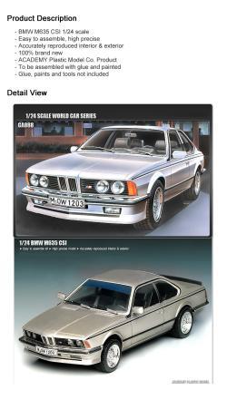 BMW M 635 interior