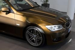 BMW M5 brown