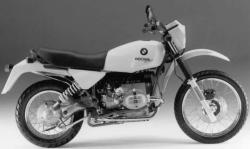 BMW R 80 GS green
