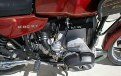 BMW R 80 red