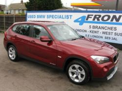 BMW X1 20D red
