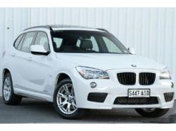 BMW X1 20D white
