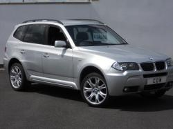 BMW X3 2.0D silver