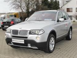 BMW X3 silver