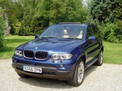 BMW X5 3.0 blue