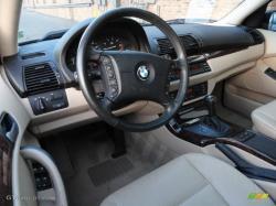 BMW X5 3.0 interior